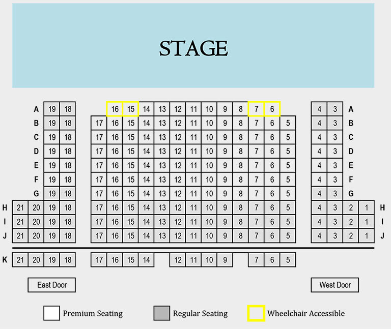 Moby Dick Seating Chart